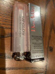 Christian Dior Addict Lip Glow Lip Balm 010 Holo Pink New In Box Full Size 3.5g