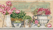 Dimensions Needlecrafts 35204 Flowers of Paris Counted Cross Stitch Kit