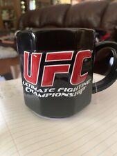 RARE UFC Coffee Mug Octagon Ultimate Fighting Championship 2008
