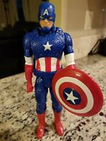 "2014 Marvel Comics Hasbro 12"" Captain America Action Figure Super Titan Hero"