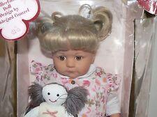 "Gotz doll 25"" Cleseste blond brown eyes toddler doll Nrfb Hildegard Gunzel"