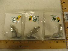3 pks (6) Ice Fishing Depth Bottom Finder Sounder VT Tackle Heavy Duty Clamp NEW