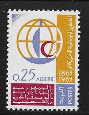 Algeria Scott #313, Single 1963 Complete Set FVF MH