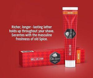 Old Spice Lather Shaving Cream Musk smell Like a Men - 70 Gram