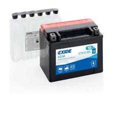 Batterie moto Exide ETX12-BS YTX12-BS 12v 10ah 180A