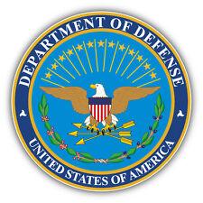 Defense Department Seal USA Car Bumper Sticker Decal 5'' x 5''