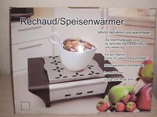 Speisen Speise Wärmer Speisenwärmer Speisewärmer Servieren Rechaud 25x18,5x8,5cm