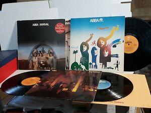 Abba Arrival, The Album, The Visitors 12 Inch records