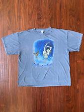 Vintage 1997 Mana T-Shirt Size Xl Sueños Liquidos Mexican Pop Rock Band 90s