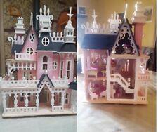 Dollhouse casa delle bambole legno dolls house mobili accessori