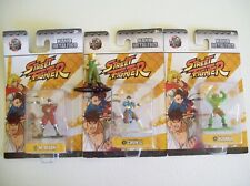 Street Fighter Jadatoys Nano Metalfigs Diecast Blanka M. Bison Chin-Li Guile