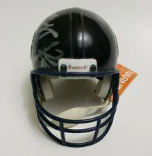 Chicago Bears Riddell Mini Replica Helmet - Autograph Helmet