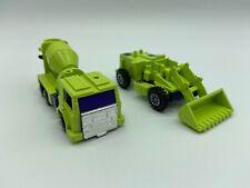 G1 MIXMASTER AND SCRAPPER LOT TRANSFORMERS (2L-8091)