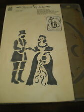 PLANTATION TIMES Man & Woman STENCIL Crafting NEW Finest Quality OLD SOUTH Paint