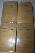 KLEUTGEN / La philosophie scolastique 4 tomes