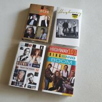 HIGHWAY 101 - Lot of 4 Cassette Tapes - Self + 2 + Bing Bang Boom + Paint /Town