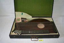 Antike Zitter Zither Musikinstrument Zupfinstrument Saiteninstrument Holzkoffer