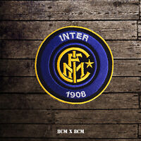 Inter Milan Sports Club Logo Embroidered Iron On Patch Sew On Badge