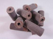 "Porting & Polishing cartridge rolls 10 pack 320 grit S Fine Straight 3/8"" x 1"""