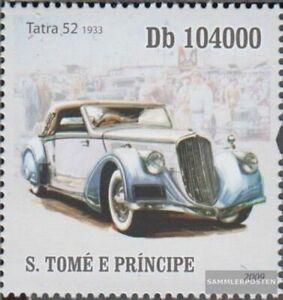 Sao Tome e Principe 4259 (kompl.Ausg.) postfrisch 2009 Alte Autos