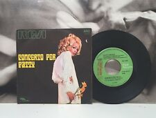"""PATTY PRAVO - CONCERTO PER PATTY 7"""" 45 GIRI ITA 1969 PIPER RECORDS AN 4188"""