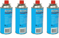 Butangas 227 gramm Kartusche Gaskartuschen Bunsenbrenner Gas Camping Kocher 4 st
