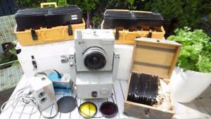 Used Vintage Carl Zeiss Jena Photogrammetric Camera system with Cases & plates