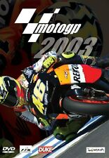 MotoGP Bike World Championship - Official review 2003 (New DVD)