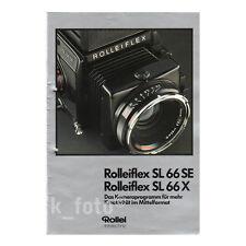 Rolleiflex SL66SE SL66X * Prospekt