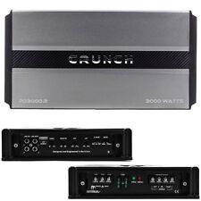 Crunch Power Drive PD30002 2 Channel 3000 Watt Car Audio Amplifier 3000w 2ch