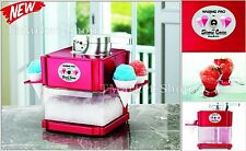 Professional Snow Cone Maker Machine 12 ice Cubes Slushes Party Drinks Cool Food
