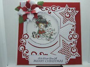 Handmade Christmas Card Topper