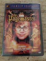 The Pagemaster DVD Macaulay Culkin Christopher Lloyd NEW Page Master