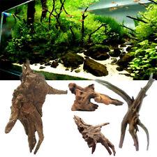 Souche Bois Arbre Racine Tronc Cachette Décoration Ornement Aquarium Poisson