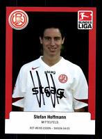 Steffen Hoffmann Autogrammkarte Rot Weiss Essen 2004-05 Original Sig+A 131244