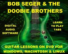 Bob Seger Guitar TAB Lesson CD 167 TABS 46 BTs + MEGA BONUS The Doobie Brothers