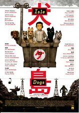 Isle of Dogs Japanese Chirashi Mini Ad-Flyer Poster 2018 Wes Anderson