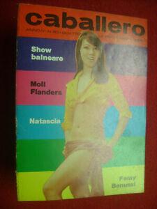 CABALLERO RIVISTA SEXY X UOMINI Nr.80 ANNO IV 1970+NMINT++