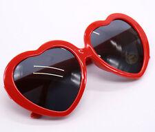 Retro Love Heart Shaped Frame Fun Funky Fancy Dress Party Clubbing Sunglasses