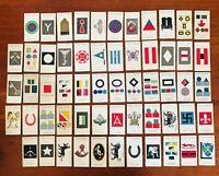 Military Army Corps John Player & Sons Cigarette Card Set Rare Vintage (B42)
