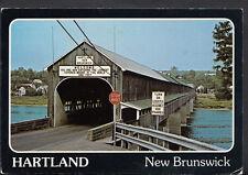 Canada Postcard - Longest Covered Bridge In World,Hartland, New Brunswick  B2431