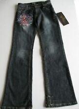 Ed Hardy Girls Love Kills Slowly Jeans (6) NWT