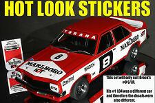 1:18 Peter Brock 1974 ATCC Winner MISSING Vinyl Decals Biante SLR LH Torana HDT