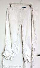 Baleno white 100% Cotton capri pants (XL)
