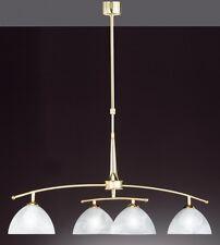 Lustre Style Campagne Lampe de séjour Lampe à suspension Plafonnier Laiton 4452
