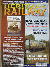 HERITAGE RAILWAY THE COMPLETE STEAM NEWS MAGAZINE ISSUE 117 OCTOBER 30 2008