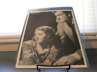 Joel McCrea and Sylvia Sidney Double Signed 8 x 10 Autograph