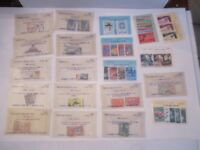 MASSIVE LOT OF INTERNATIONAL STAMPS - MINT NH - IN ORIGINAL GLASSINES