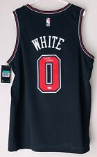 Coby White Signed Chicago Bulls Nike Autograph NBA Swingman Auto Jersey FANATICS