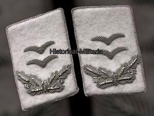 LUFTWAFFE Kragenspiegel Oberleutnant h.g. div weiss collar tabs 1st Lieutenant